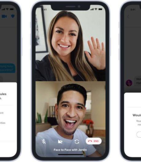 """Tinder lance """"Vidéo Chat"""", sa fonctionnalité de rencontre en vidéo"""