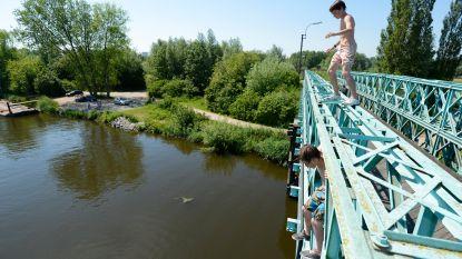"""Gemeente waarschuwt: """"Zwemmen alleen toegestaan in erkende zwemwateren"""""""