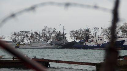 President Oekraïne vraagt steun van NAVO-schepen bij conflict met Rusland