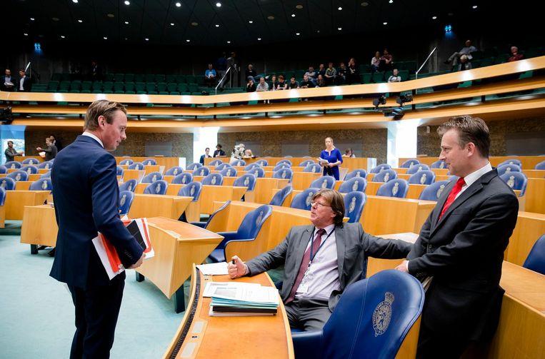 Kamerleden voor aanvang van de Algemene Financiële Beschouwingen in de Tweede Kamer Beeld ANP