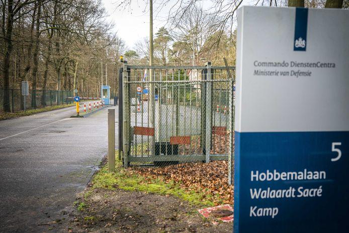 Het Defensieterrein in Huis ter Heide waar een groep uit Wuhan naar ons land gebrachte Nederlanders in quarantaine moest vanwege de uitbraak van het coronavirus.