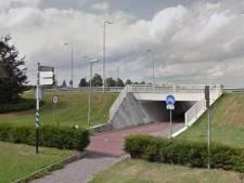 Rotonde Amersfoortseweg in Nijkerk deels dicht