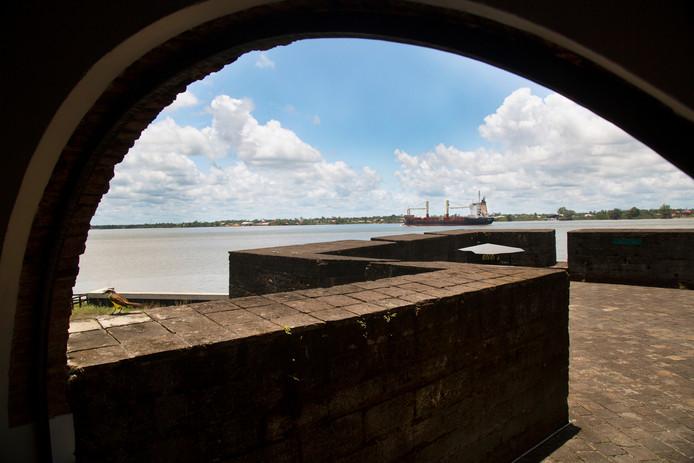Fort Zeelandia in Paramaribo waar in 1982 de Decembermoorden plaatsvonden.