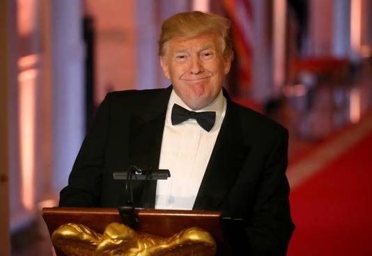 President Trump verleende Black zijn presidentiële pardon.