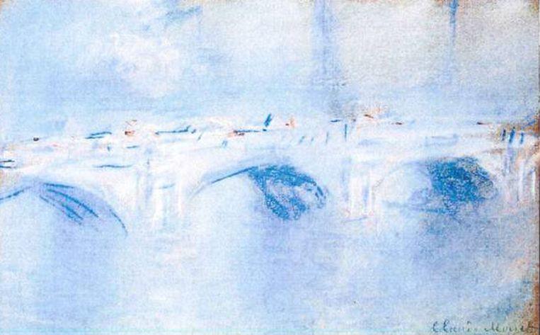 Claude Monet: 'Waterloo Bridge, London' (1901) Beeld