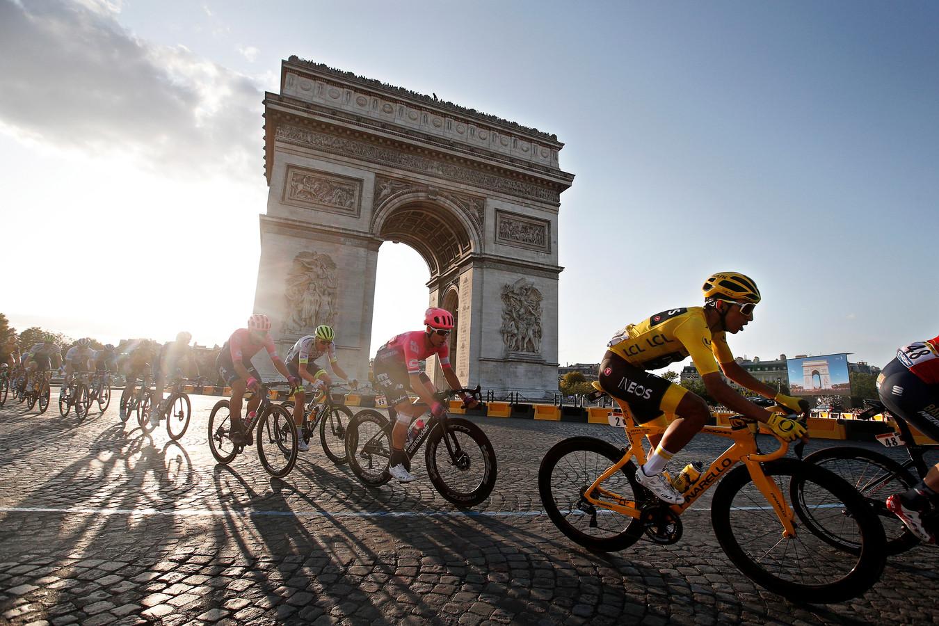 Komen de renners dit jaar op 20 september aan in Parijs?