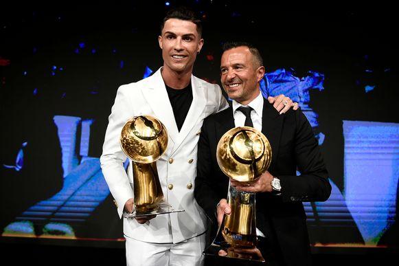 Cristiano Ronaldo en  Jorge Mendes