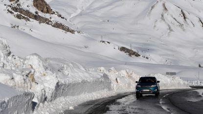 Tot drie meter sneeuwval verwacht in Zwitserland en Italië