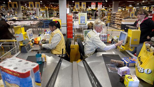 Een supermarkt van Jumbo.