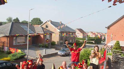WK-gekte nu al begonnen in Heiligenstraat