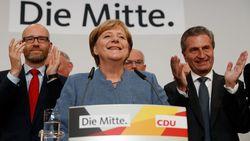 Merkel wint minder fors dan verwacht, extreemrechtse AfD wordt derde grootste partij
