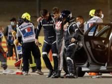 LIVE | Grosjean na zeer zware crash richting ziekenhuis, race ligt minstens 45 minuten stil