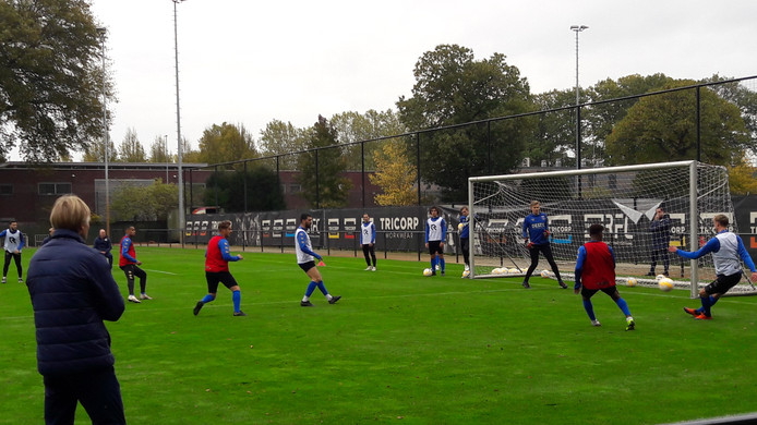 Archiefbeeld Willem II-training.