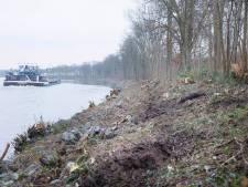 Honderden bomen tegen de vlakte, maar voor schippers is het niet nodig: 'We hebben juist last van te kale oevers'