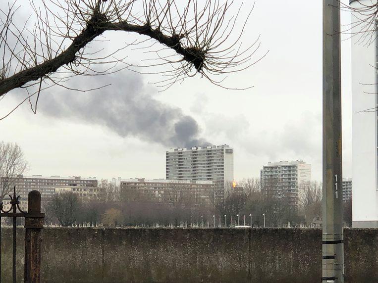 Sommige oproepers denken dat er gebouwen in brand staan.