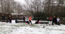 Als je een bootcamp op de planning hebt, dan zeg je die natuurlijk niet af voor een beetje sneeuw. Maar om nou in korte mouwen rond te lopen in Eindhoven, dat is wel heel straf. Grote klasse mensen!