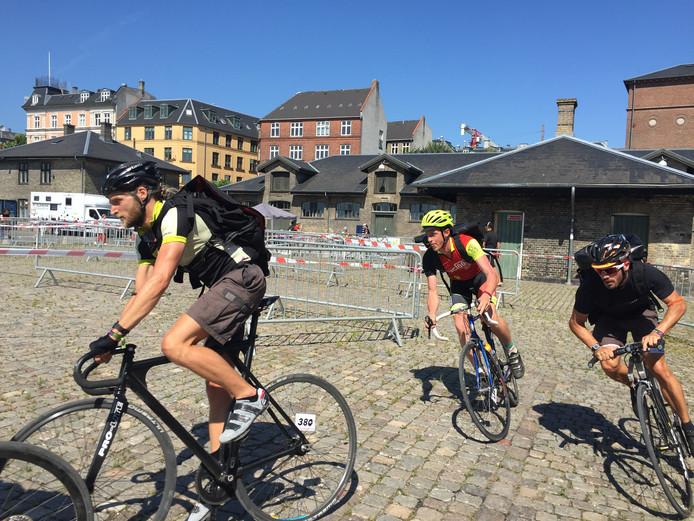Marcel Kleizen, oud-speler van PEC Zwolle, is in Kopenhagen Europees kampioen fietskoerieren geworden.
