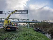 Auto te water bij Maarssen, alle vijf de inzittenden veilig aan de kant