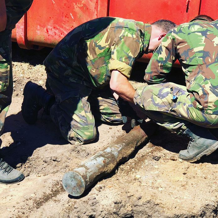 Oud explosief gevonden in het Goffertpark.