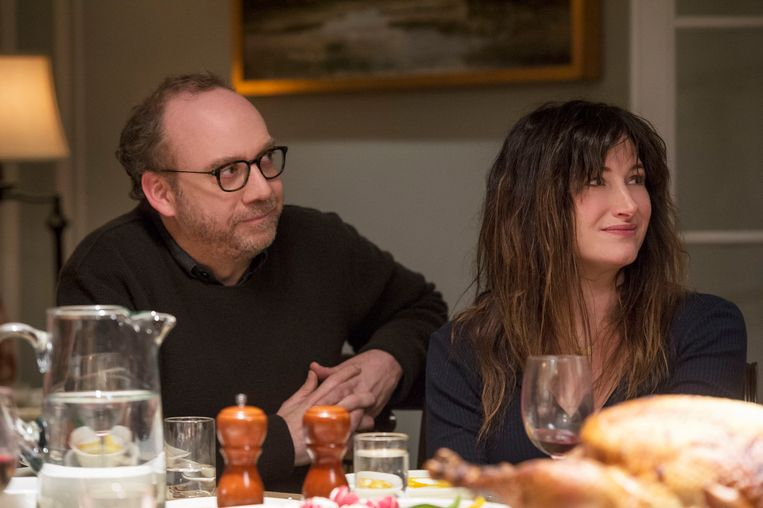 Paul Giamatti en Kathryn Hahn in Private Life (Tamara Jenkins, 2018). Beeld null