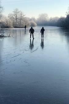 Waaghalzen op het ijs: 'Alles in mij zegt: terug! Maar je moet door'