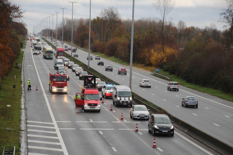 Het ongeval gebeurde ter hoogte van Ossenbroeck in Oordegem.
