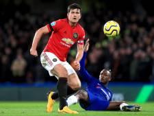 Lampard boos op VAR: 'Maguire had rood moeten krijgen'