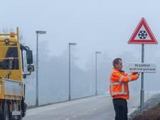 Fout waarschuwingsbord over gladheid fietsstraat Geldersedijk met spoed verwijderd
