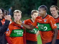Jong NEC komend seizoen tegen Feyenoord en Heerenveen