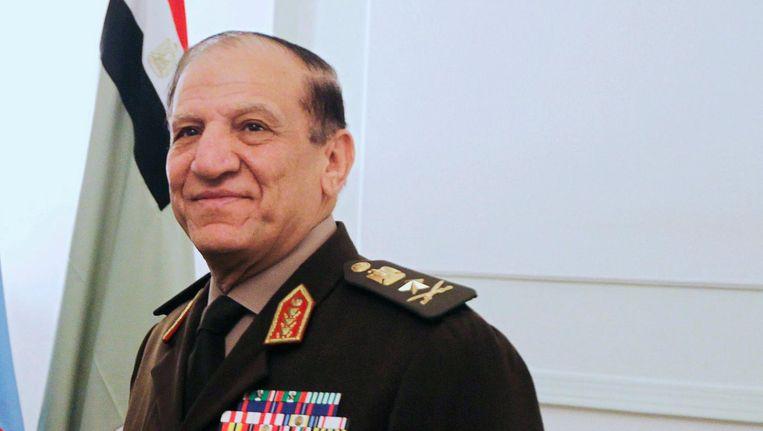 Generaal Sami Anan, oud-chefstaf van het Egyptische leger. Beeld reuters