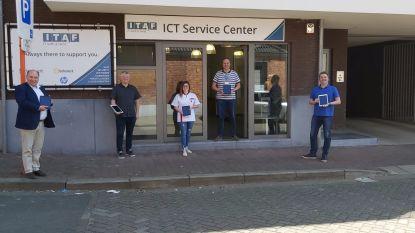 IT-bedrijf schenkt iPads aan woonzorgcentrum en serviceflats