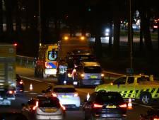 Ongeval A1 met gewonde leidt tot forse vertraging
