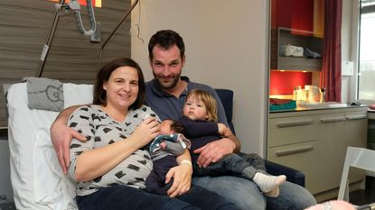 Maurris is enige nieuwjaarsbaby in AZ Malle