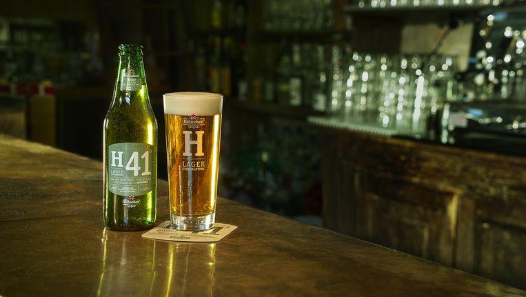 Heineken H41 komt voorlopig alleen in cafés te koop Beeld Heineken