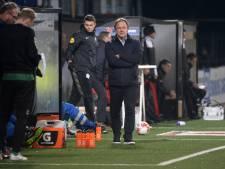 De Graafschap-trainer Snoei blij met kritische Seuntjens: 'Maar deze reactie was verkeerd'
