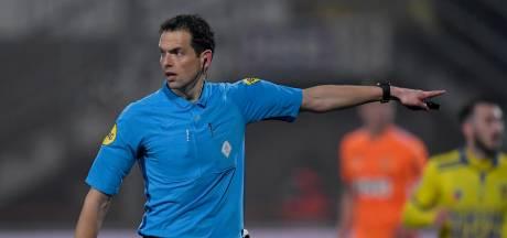 Richard Martens fluit duel tussen Willem II en Fortuna Sittard