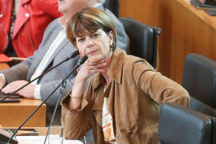 La ministre Valérie De Bue
