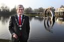 Charlie Aptroot in 2012, kersvers burgemeester van Zoetermeer.