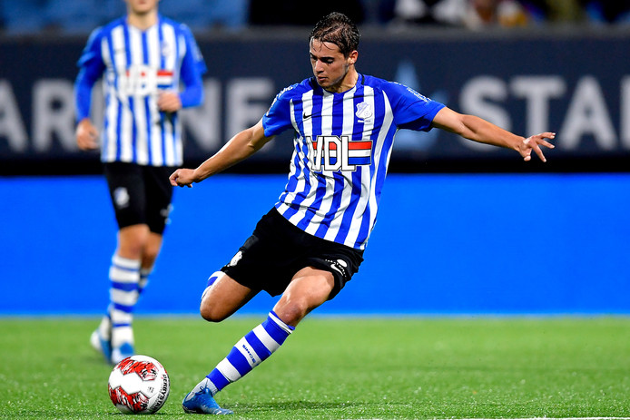 Samy Bourard of FC Eindhoven during FC Eindhoven - AZ Alkmaar U23 NETHERLANDS, BELGIUM, LUXEMBURG ONLY COPYRIGHT BSR/SOCCRATES