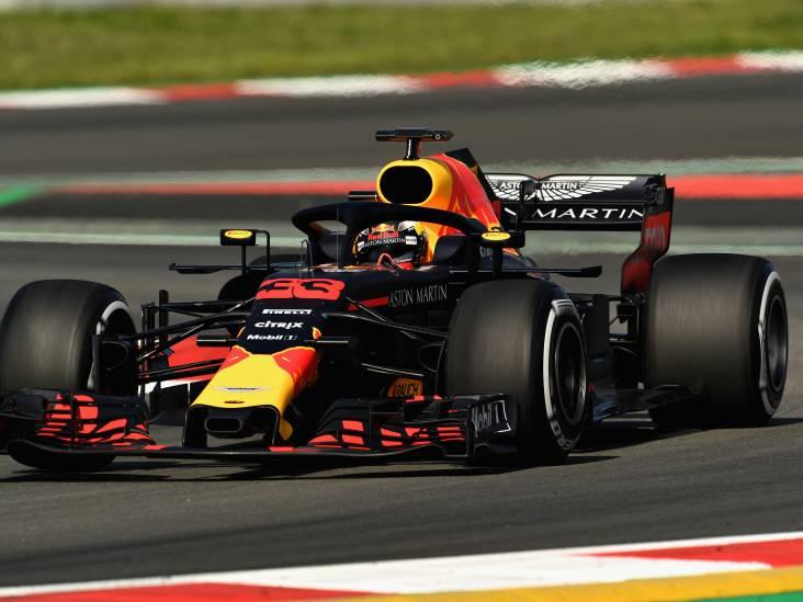 Verstappen snelste op testdag in Barcelona
