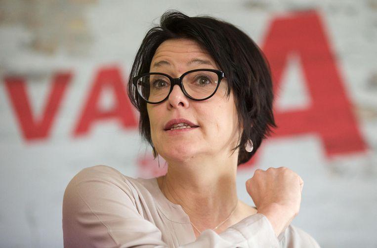 Kathleen Van Brempt trekt opnieuw de Europese lijst voor sp.a.