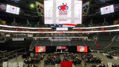 Met tienduizenden tegelijk in een tot de nok gevulde zaal: Republikeinen willen partijconventie absoluut laten doorgaan en zoeken nieuwe locatie na veto gouverneur North Carolina
