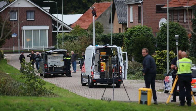 Politieonderzoek na de mislukte ontsnapping Beeld anp