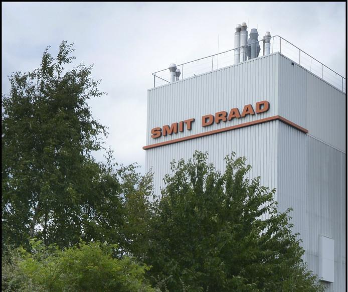 Het gebouw van Smit Draad in Nijmegen.