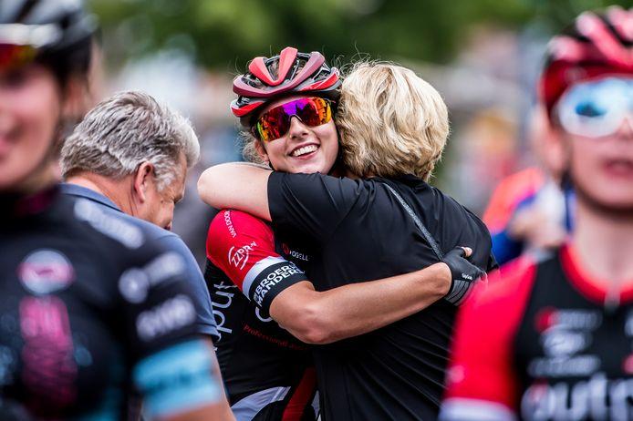 Femke Gerritse kan het amper geloven. De titel is voor de juniore uit Rosmalen.