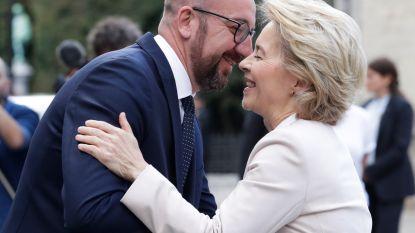 'Monsieur Europe' en 'Frau Europa' besnuffelen elkaar