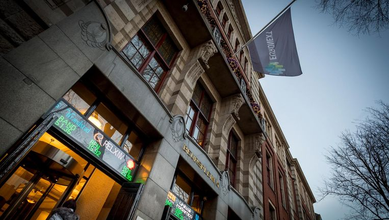 Amsterdamse beurs van Euronext. Beeld anp
