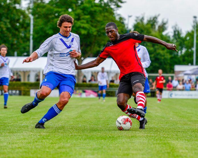 Cluzona ontving eind vorige maand nog eerstedivisionist Top Oss in Wouw.