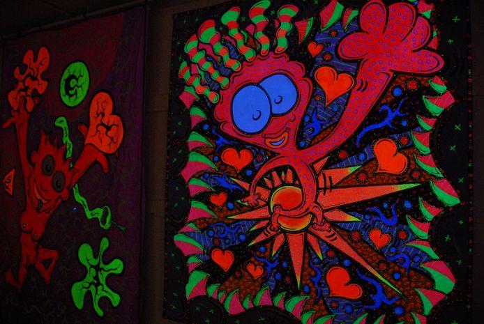 Monsterlijke gedaanten zijn veelvuldig aanwezig binnen het werk van Jeroen Bos.