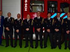 Deze brandweerlieden zijn zaterdagavond in het zonnetje gezet